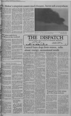 1980-May-21 The Dispatch, Page 1
