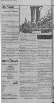 2001-Sep-20 The Perkins Journal, Page 2
