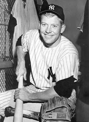 Mickey Charles Mantle (October 20, 1931 – August 13, 1995)
