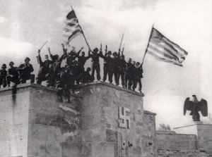 Americans Take Nazi Stronghold