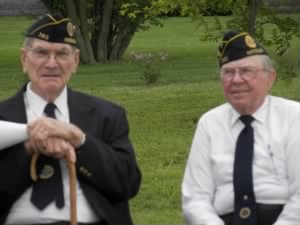 Roberts, Louis R on r. Memorial Day '08 Callao, MO.