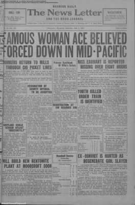 1937-Jul-3 News Letter Journal, Page 1