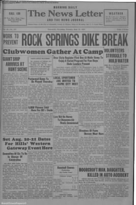 1937-Jul-13 News Letter Journal, Page 1