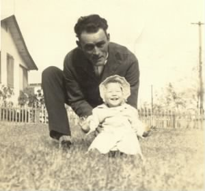 Charles and Judith Ann Nelson (his daughter)