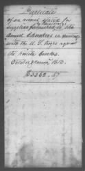 Copies Of Accounts, Receipts, And Disbursements, 1801-20 › Page 161 - Fold3.com