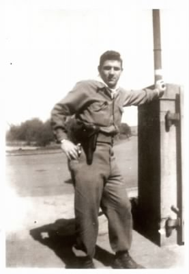 Tommy Alfano in Germany 1945