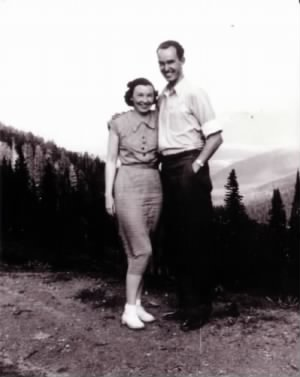 Owen and Louise Christensen 1937