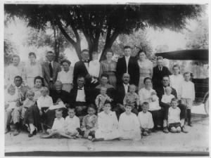 Stephen and Dora Boatright Family