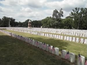 Graves of Union dead at Andersonville