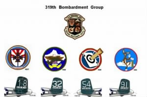 Gene Paul Ryan, 319th Bomb Group