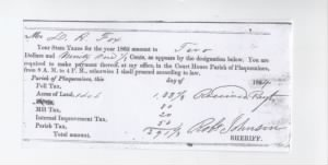 Dr. D. R. Fox Tax receipt 1862.jpg