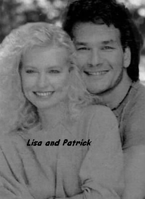 Patrick W Swayze and his wife, Lisa Niemi /Swayze Photo