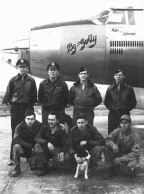 "397thBG, The ""By Golly"" B-26 Marauder and her Crew"