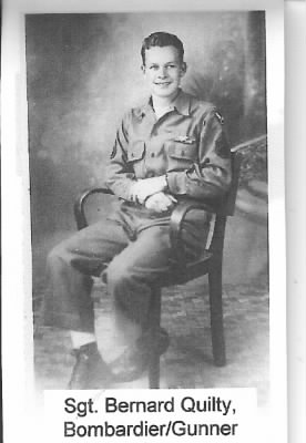 Bernard F Quilty, Portrait after completing his 50 Combat Missions