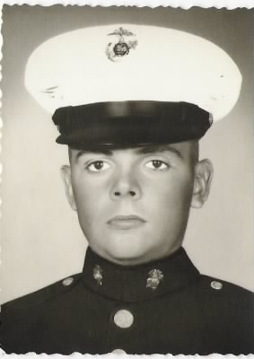 Robert Dwain Arnold as a US Marine