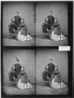 B-1923 Gen. George A. Custer and Wife.