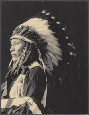 Frank A. Rinehart Photographs › 2 - Afraid of Eagle, Sioux - Fold3.com