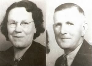 Mae (SMITH) ATKIN and Husband; Heber Atkin