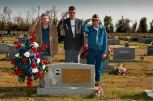 Honoring Bruce A Nelson by Missouri Veterans