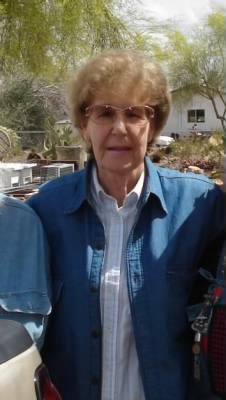 Lewis and Mildred's younger daughter, Pat (Roberts) Brook, 2007