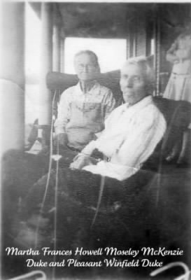 Martha Frances and Pleasant Duke