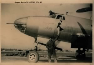 "B-17 Marauder ""Gorgeous Betty"" #42-107798"