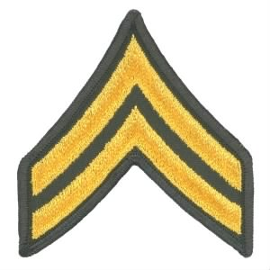 E-4 CPL stripes