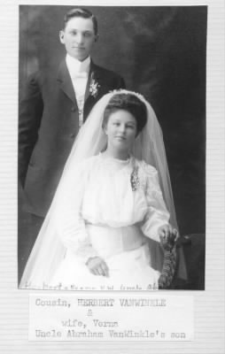 Herbert (son of Abraham H.) and Verna VanWinkle