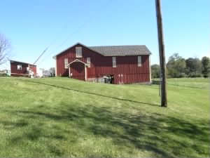 Barn on Hower Slote property