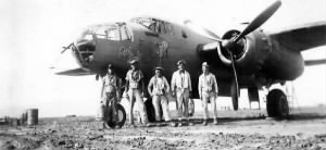 "Harold Brellenthin was shot-down in the #41-30551 D-20 ""Pink Lady"" 19 Feb. 1944 (KIA)"