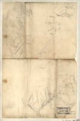 [Sketch of the road from Somerville to Jonas Run, beyond Stevensburg, in Culpeper County, Va.]. › Page 1 - Fold3.com