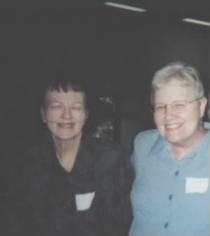 Lala and Margaret at Genealogical Conference
