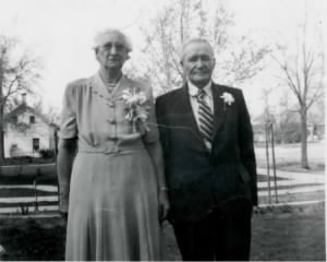 50th Wedding Aniversary -- 24 April 1951