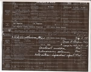 "Lucy Methsmith ""Messersmith"" Bremmer- Death Certif"