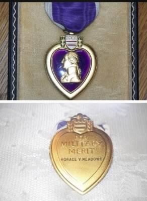 Horace Verlon Meadows Purple Heart
