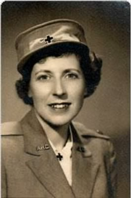 Red Cross Carolyn Chapin (Died Non Battle) 10 May, 1944 Courier Flight/Bad Weather