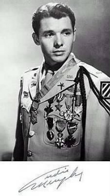 Audie Murphy, Pamela's husband.