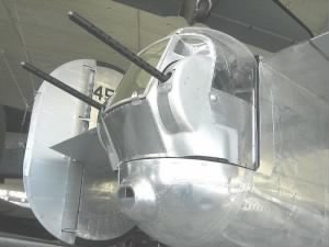 B-24 Tail-Gunner's Position.  Walter was a Tail-Gunner.