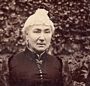 1884 approx FH-HJW Ann Harriet Franklin Age 57, Mother of Henry Joseph Walk.jpg