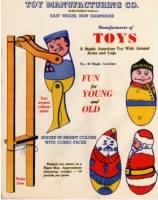 Toy Manufacturing Company, East Weare, NH letterhead