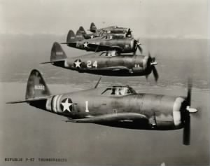 P-47's of the 79th Fighter Group