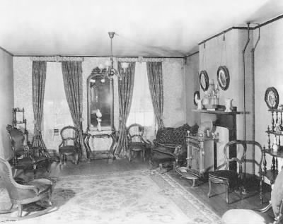 Lincoln's parlor  (Bettmann Archive) - Fold3.com