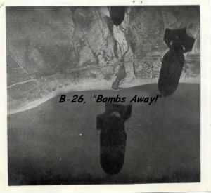 B-26 BOMBS AWAY, Combat Mission over Italy, 320th BG, 443rd BS