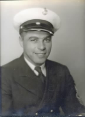 Navy portrait of Maurice Williard Ronayne
