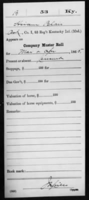 Blair, Hiram (Elihu) I 53 KY Inf Compiled Service Record Page 4.jpg