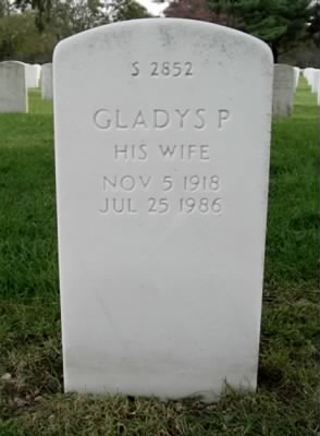 Gladys Cender tombstone picture