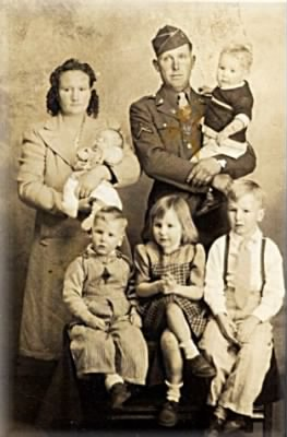 Velvateen (Flaherty) Martin and Family