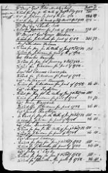139 - Account Book of Payments Made to Officers and Men of the Virginia Line by Lt Charles Stockley. 1782-1783 › Page 5 - Fold3.com