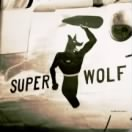 Super Wolf nose art