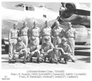 Lt. Richard Winters' crew